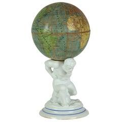 Atlas with Globe