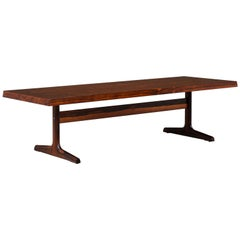 Danish Modern Rosewood Coffee Table by Dansk Design