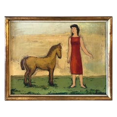 Oil Painting by Pierre Devos