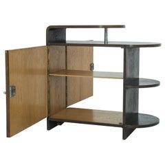 1930s Modern German Veneered Cabinet
