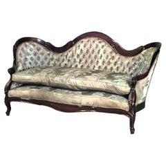 American Victorian Rosewood 6-Piece Living Room Set