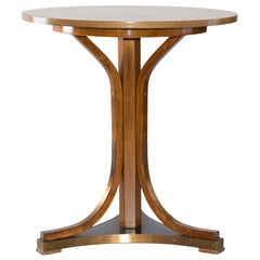 Otto Wagner Attributed, Thonet Jugendstil Coffee Table with Label