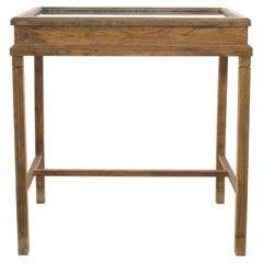 Vintage Oak Display Case
