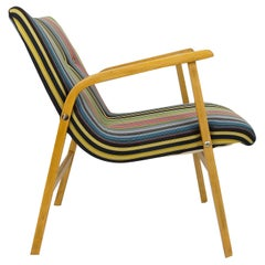 1950s Roland Rainer Cafe Ritter Chair with Paul Smith Maharam Upholstery