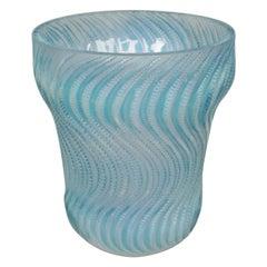 Art Deco Opalescent Glass Vase 'Actinia' by René Lalique