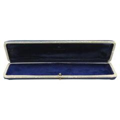 Antique Bucherer Watch / Bracelet Jewellery Box, Circa 1930's