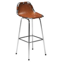 High Bar Stool by Charlotte Perriand for the Les Arcs Ski Resort
