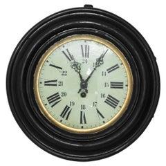 Napoleon III French Wooden Clock