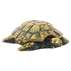1920s French Brass Turtle Paperweight