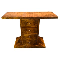 Decorative and Rare Chest of Drawers or Console in Art Deco Style