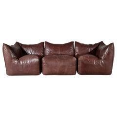 Le Bambole 3-Seater Sofa by Mario Bellini for B&B Italia, 1970s