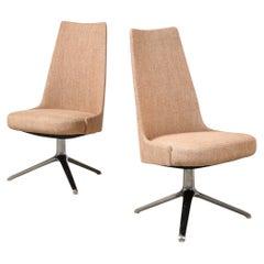 High Back Swivel Chairs by Osvaldo Borsani & Valeria Fantoni