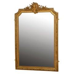 XIXth Century Giltwood Wall Mirror