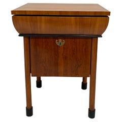 Neoclassical Biedermeier Small Furniture, Cherry Veneer, Austria, circa 1830