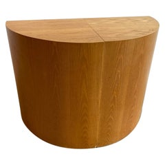 Postmodern Demi-Lune Console Table