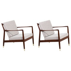Folke Ohlsson Model USA-143 Lounge Chairs for DUX