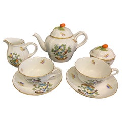 Herend Rothschild Tea for Two Set
