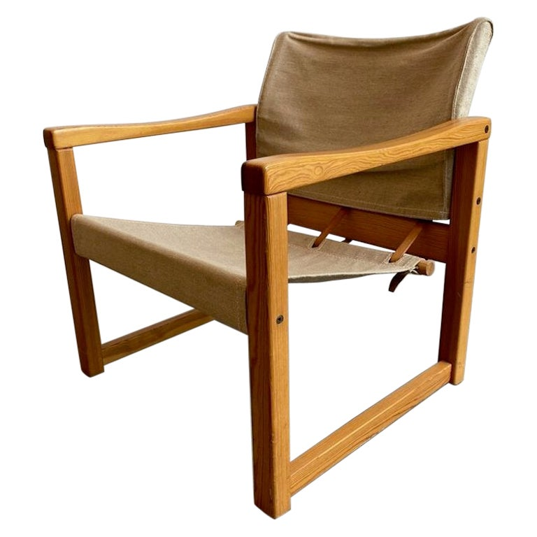 """""""Diana"""" Sling Chair by Karin Mobring for Ikea, 1972"""