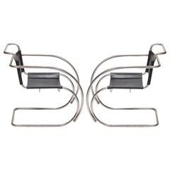Mies van der Rohe MR20 Armchairs