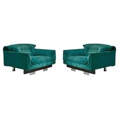 Vittorio Introini for Saporiti Lounge Chairs
