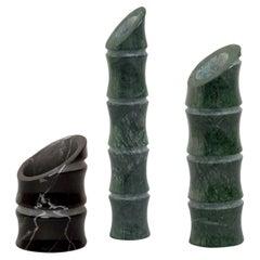 Set of 3 Kadomatsu Vases by Michele Chiossi