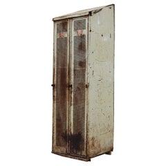 Vintage Industrial Gym Locker