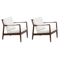 Mid-Century Modern Lounge Chairs by Folke Ohlsson for Dux