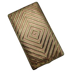 Cartier 14kt Yellow and Rose Gold Card / Cigarette Case, USA Circa 1940's