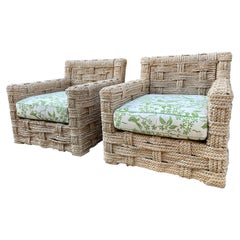 Pair of Armchairs in the Style Audoux-Minet
