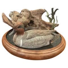 Duck Decoy Three-Piece Sculpture by Herb Watson