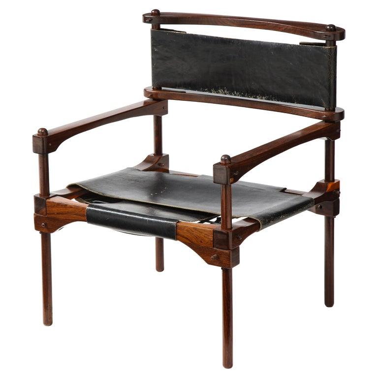 Don Shoemaker Perno Safari Chair For Sale
