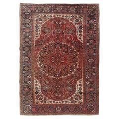 Vintage Persian Heriz Rug,  8'2 x 12'