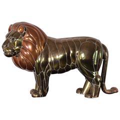 Large Lion Sculpture by Sergio Bustamante