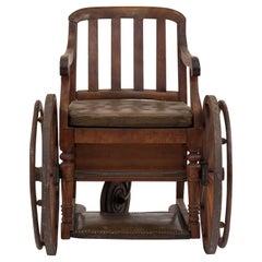 American Mission Oak Wheel Chair