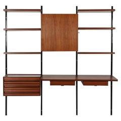 Wall Bookcase E22 by Osvaldo Borsani for Tecno