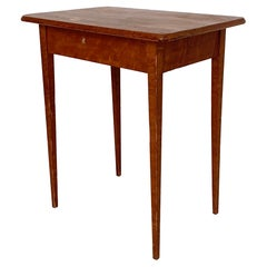 Early 19th Century Red Northern Swedish Gustavian Country Table