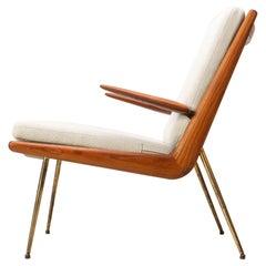 "1950s Danish ""Boomerang"" Chair FD134 by Peter Hvidt & Orla Molgaard Nielsen, F&D"