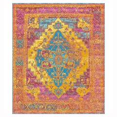 Once Upon a Time i Was a Heriz, Contemporary Rug in Silk by Djoharian Design