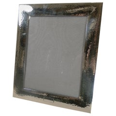 Large Top Quality American Sterling Silver Picture Frame, c.1930