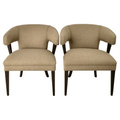 1940s Open Arm Chairs