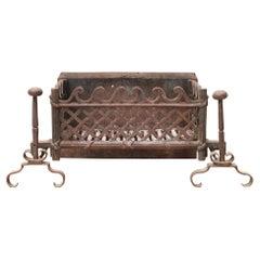 Georgian Style Antique Fire Grate