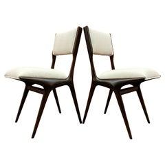 Carlo de 'di' Carli 634 Chairs, Pair