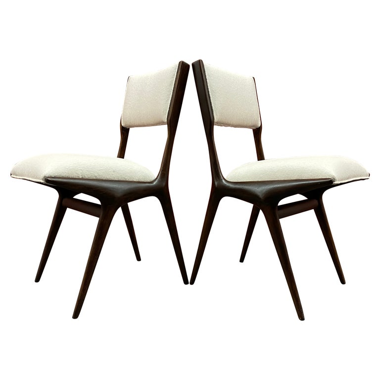 Carlo de Carli 634 chairs, 1951, offered by pad