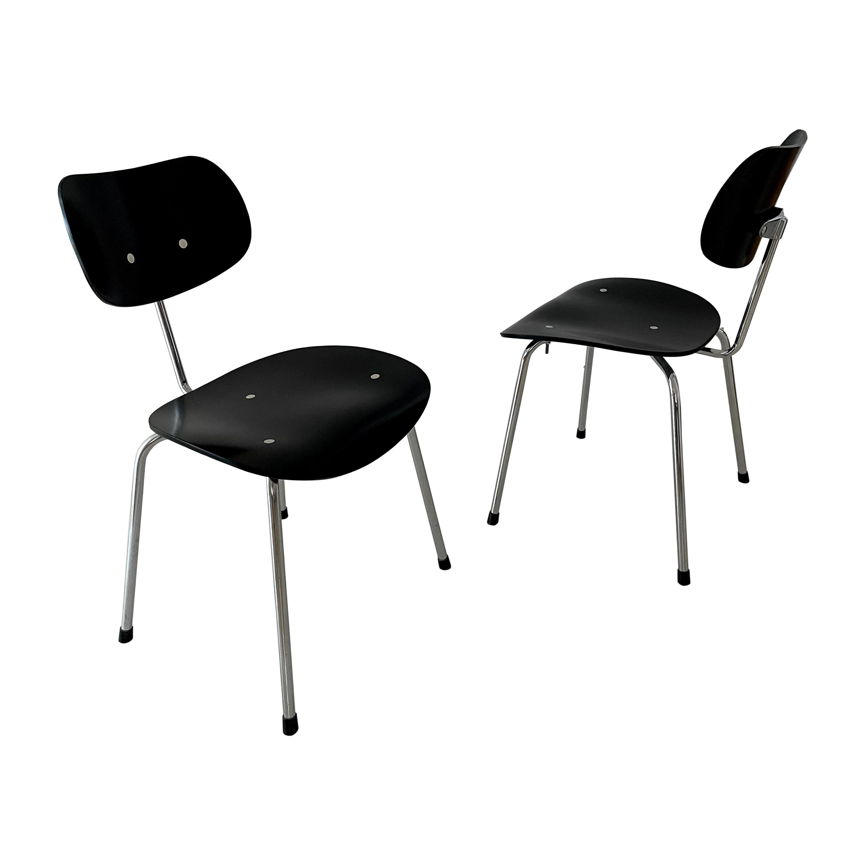 Vintage Egon Eiermann SE 68 Chair by Wilde+Spieth Germany