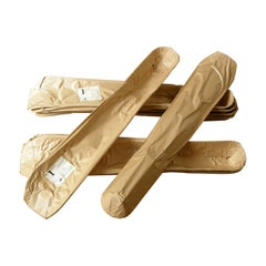 Charles and Ray Eames Molded Plywood Leg Splint for Evans in Original Wrapper