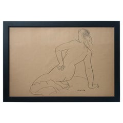 Jerry O'Day Nude Drawing #3