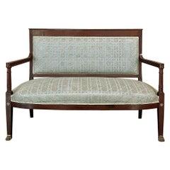 19th Century Napoleon III Period Empire Style Sofa, Canape