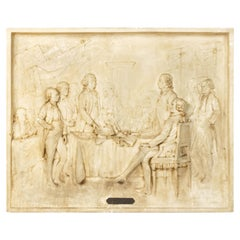 American Plaster Cast of the Signing of the Declaration of Independence