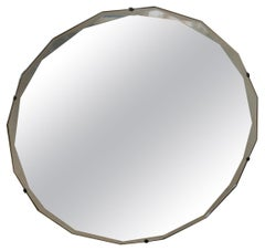 Double Beveled Glass Multi Angled Mirror, 1920