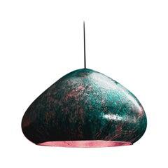 Kvitka Copper Pendant Lamp by Makhno
